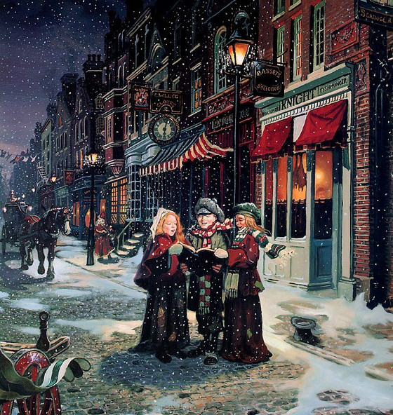Caroling for Christmas, a Lost Tradition - Free Lyrics Book