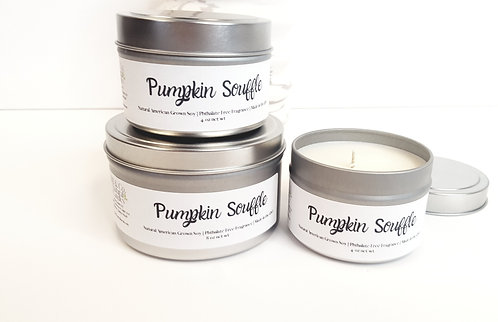 Pumpkin Souffle Natural Soy Candle | Hand-Poured and Hand-Crafted
