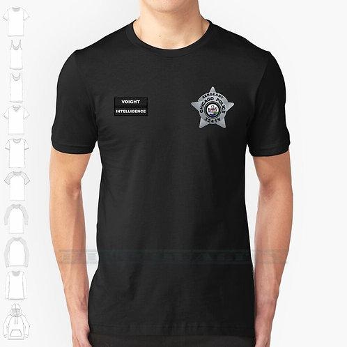 Chicago P.d - Sergeant Hank Voight - Intelligence Badge Vest  Cotton T Shirt
