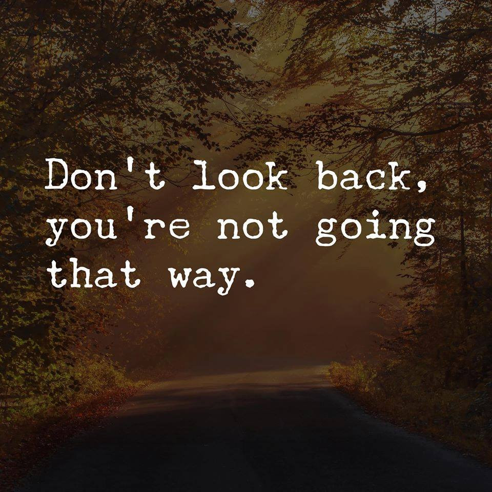Done Look Back