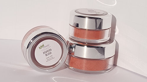 Inspired Natural Blush Pigment | Raw Beauty Minerals