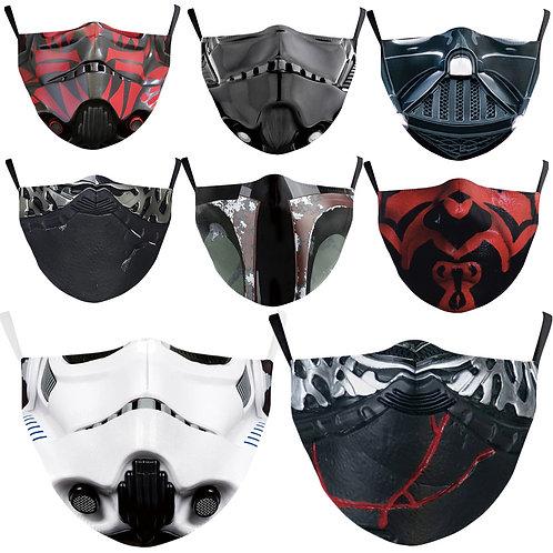 Darth Vader Boba Fett Cosplay Face Mask Dustproof Adult Masks