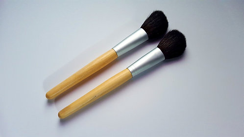 Vegan Blush Brush Bamboo Handle