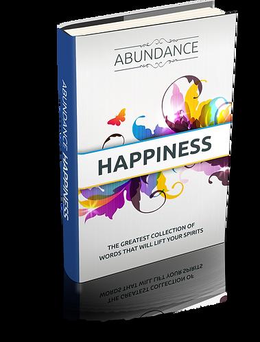 Abundance Happiness EBook