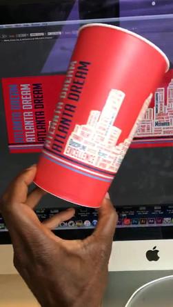 Atlanta Dream Souvenir Cup