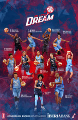 2018 Atlanta Dream Team Poster