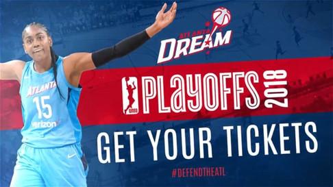 Atlanta Dream Playoff Video