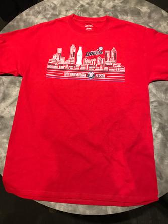 Coca Cola 10 year Tee Shirt