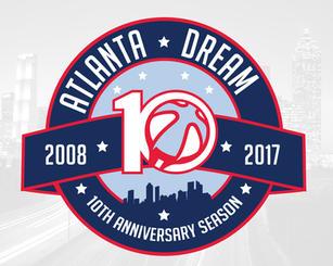 Atlanta Dream 10th Anniversary