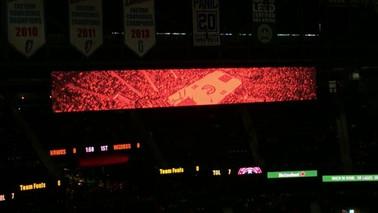 Atlanta Hawks In-Arena Motion Graphics
