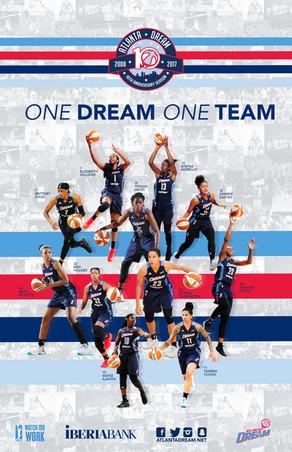 2017 Atlanta Dream Team Poster