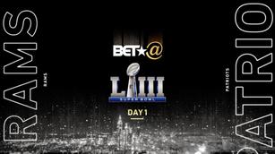 Super Bowl in Atlanta BET