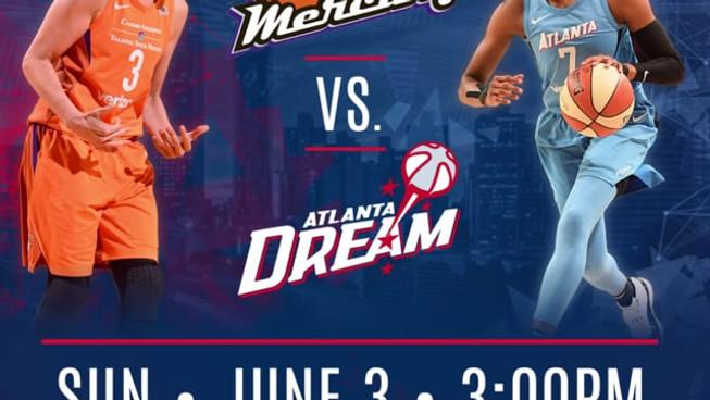 Atlanta Dream Match Up Motion Graphic