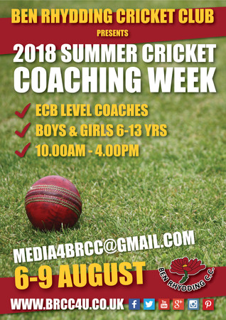 Places left at the BRCC Coaching Week!