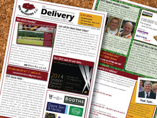 First edition of 'The Delivery' available!