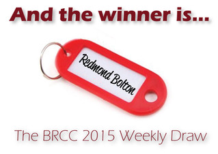 Redmond Bolton wins on the Weekly Draw!