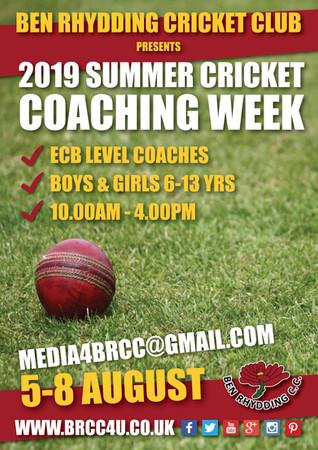 2019 Coaching Week details revealed!