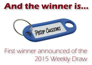 Winner of the first 2015 BRCC Weekly Draw announced…