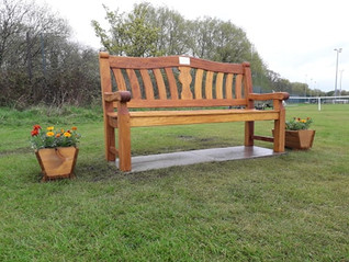 Welcoming of the Peter Bryett memorial bench
