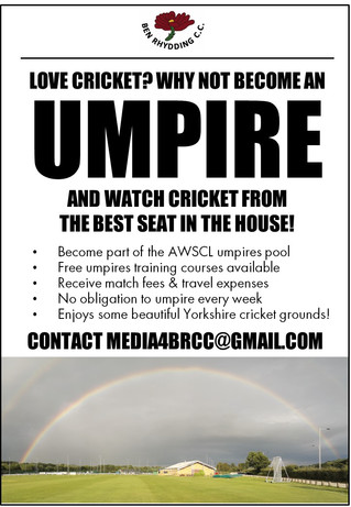 Call for umpires!