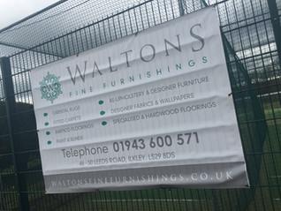 Waltons announced as gold sponsor
