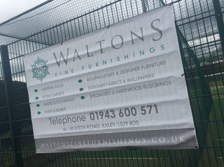 Waltons announced as gold sponsor