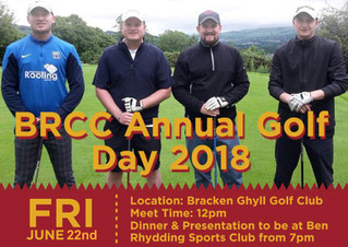2 weeks until the 2018 Golf Day!
