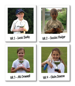 June's U9s Weekly Star Player Award  winners confirmed!