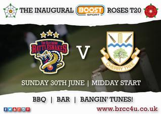 New sponsor inspires roses match!