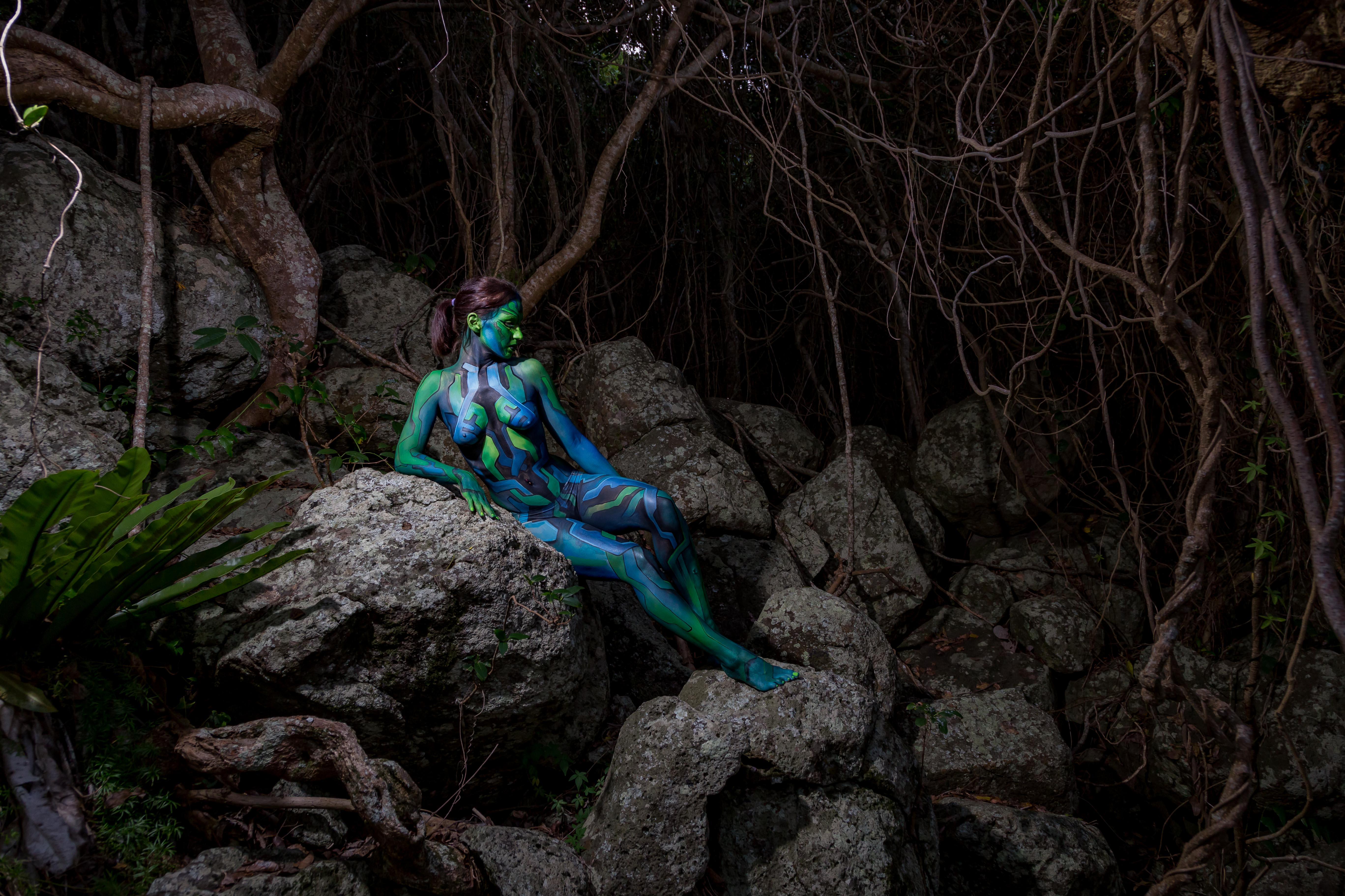 Avatar body Painted Model