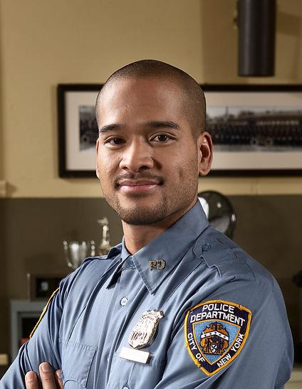 Policeman Indoors