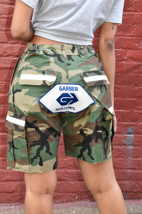 ARMY PATCH SHORTS