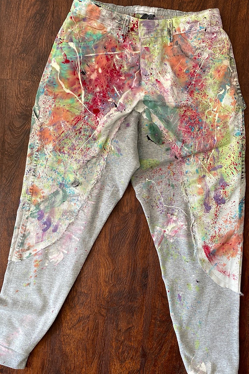 PAINTED JOGGERS