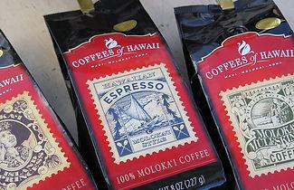 モロカイ島ツアー、Coffees of Hawaii, Molokai Coffee