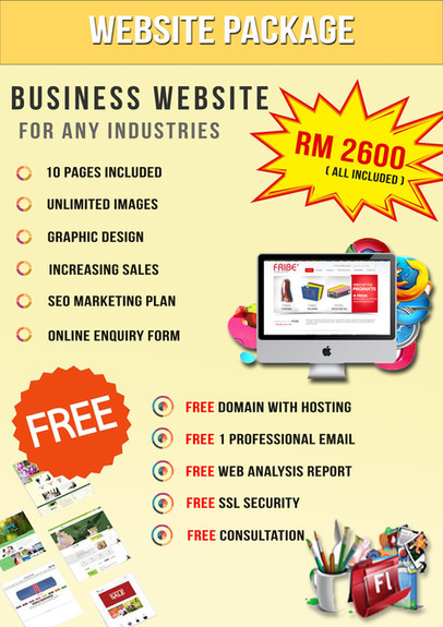 website business package