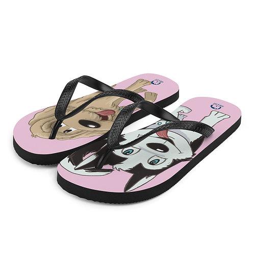 Pink A&LFlip-Flops