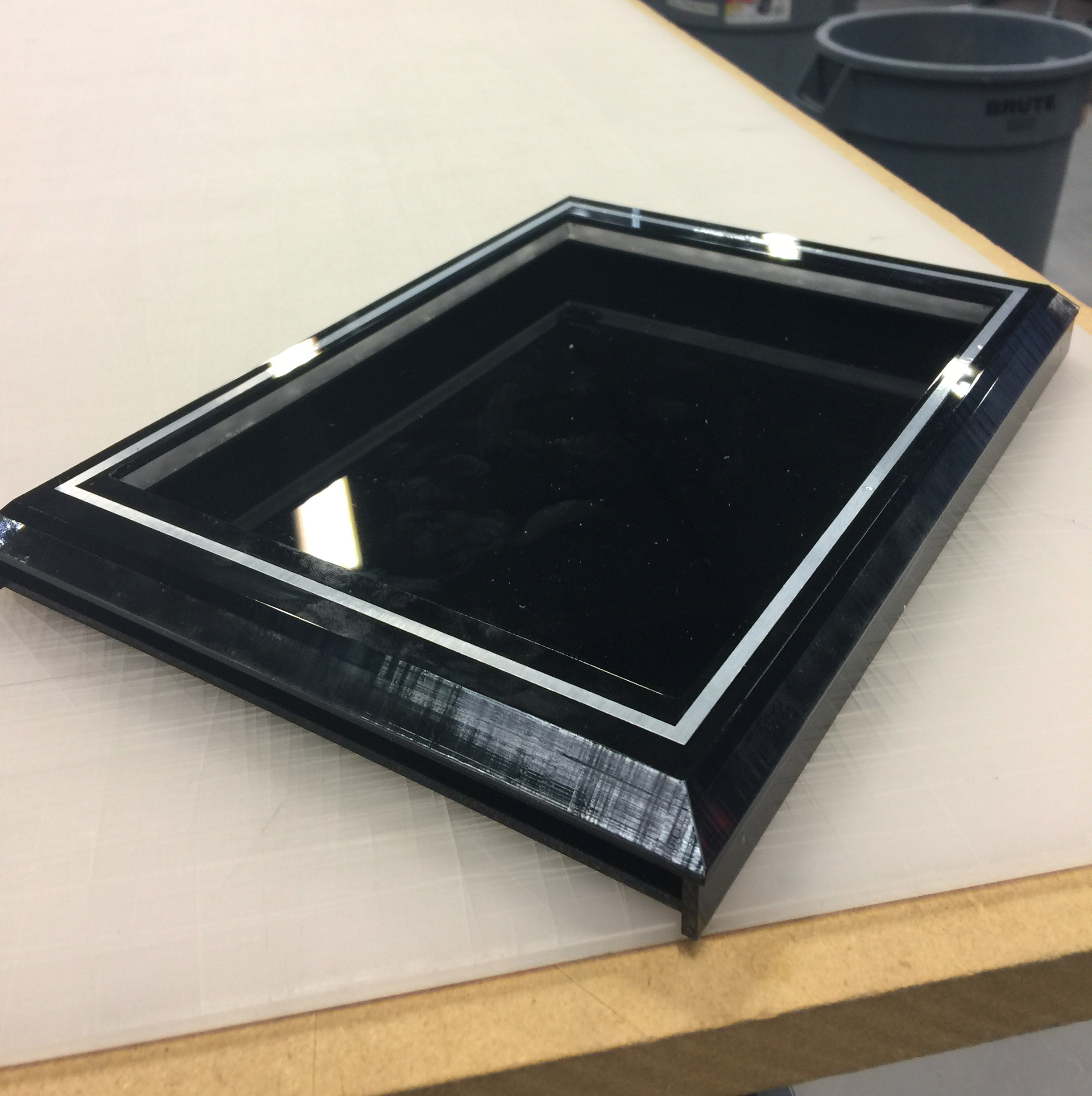 Acrylic Fabrication for iPad Frame