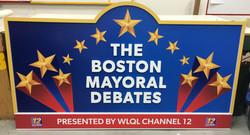 Boston Debates Sign