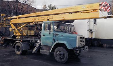 Заказ автовышки модели ЗИЛ в Нск