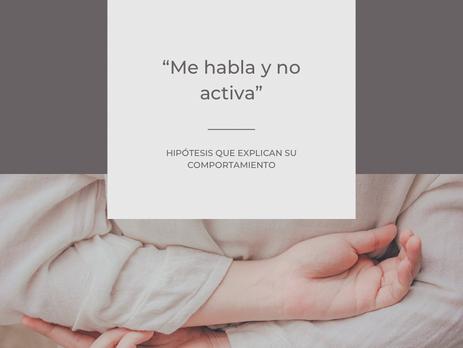 """""""Me habla pero no activa"""" - el chateador serial"""