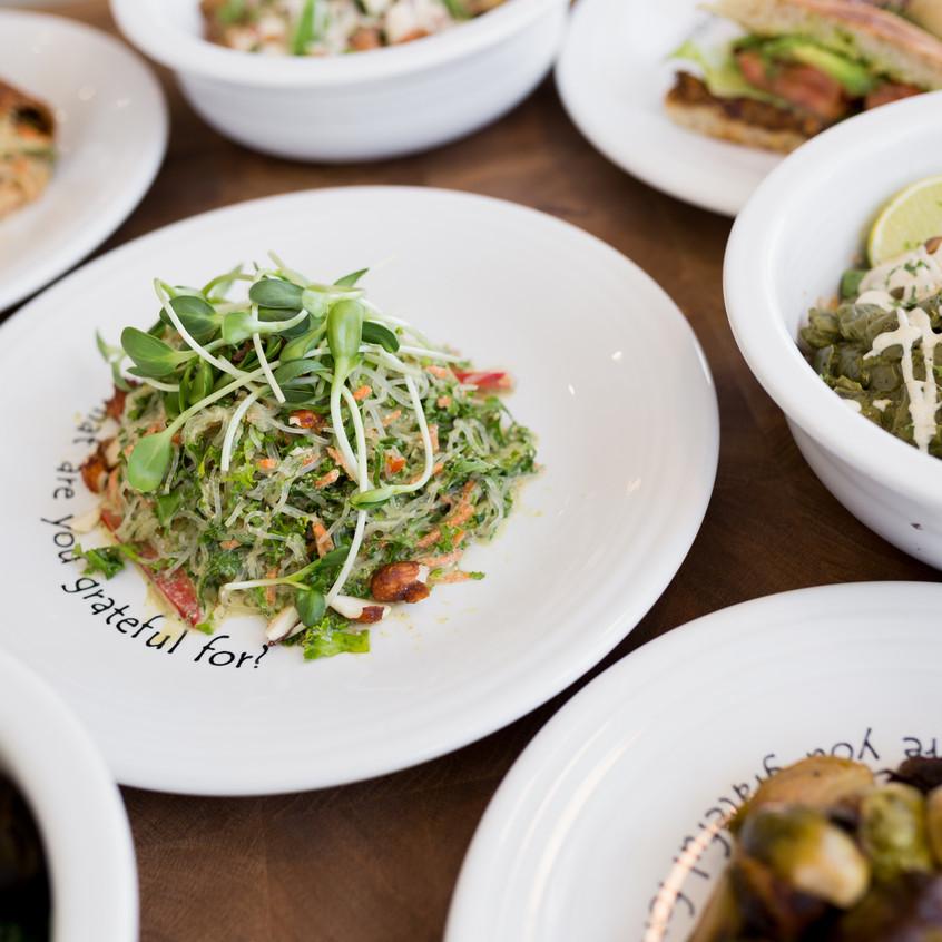 Multiple Dishes - Cafe Gratitude