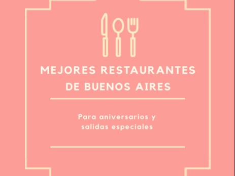 Restaurantes para salidas y aniversarios