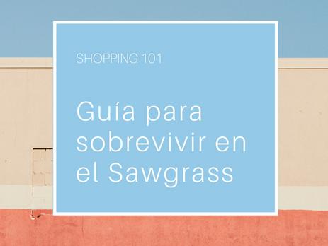 Guía para sobrevivir al Sawgrass
