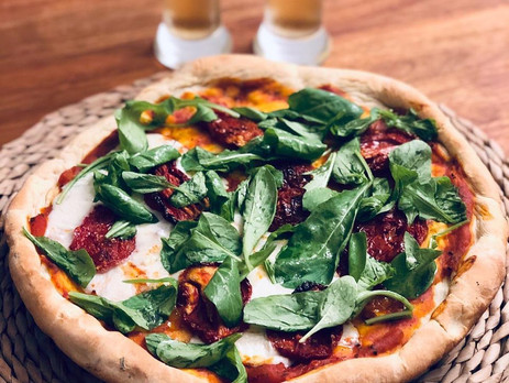 Receta de pizza vegana