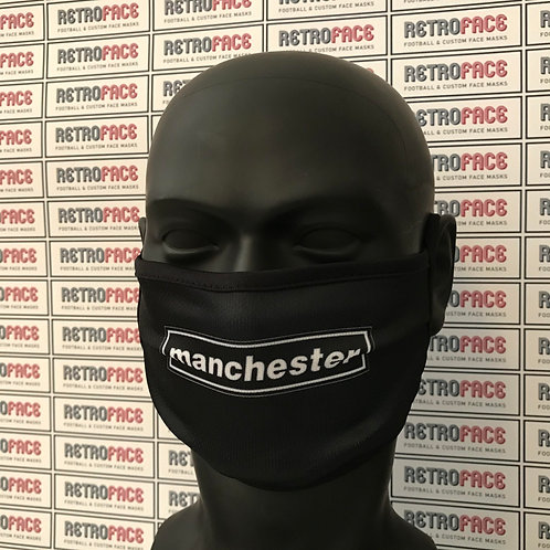 Oasis Inspired MANCHESTER Face Mask