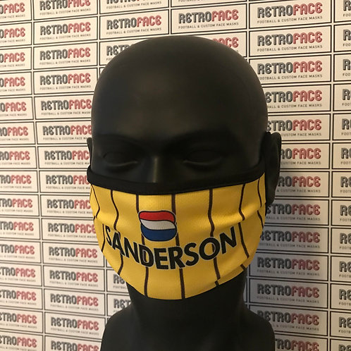 RETRO - SHEFFIELD WEDNESDAY AWAY '94 FACE MASK