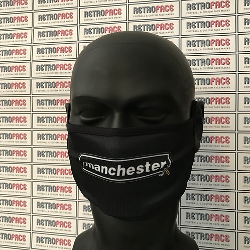 Oasis Inspired MANCHESTER Face Mask (With Manchester Bee)