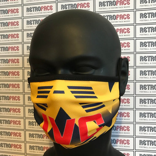 RETRO - ARSENAL FC FACE MASK AWAY '91 'BRUISED BANANA'