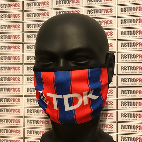 RETRO - CRYSTAL PALACE FC FACE MASK HOME '97