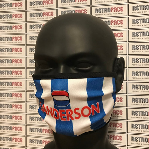 SHEFFIELD WEDNESDAY FACE MASK HOME '99